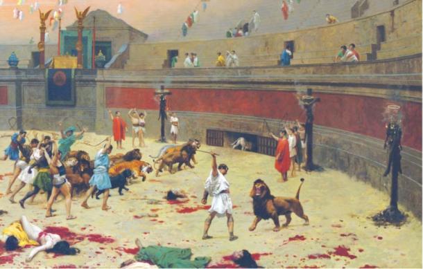 gladiators-fighting-beasts