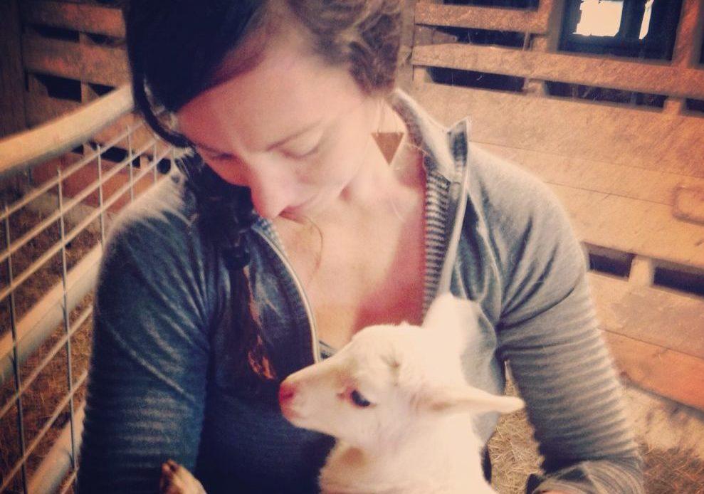 mere-w-newborn-lamb-1-e1464302032302
