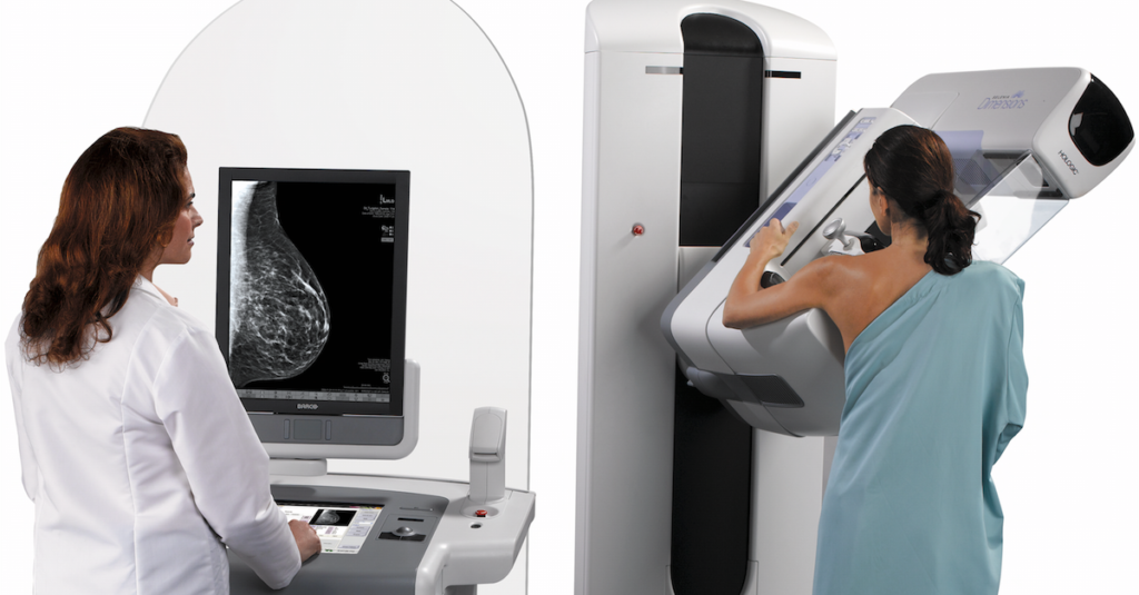 More Than Half Of Breast Cancer Detected By Mammograms Is