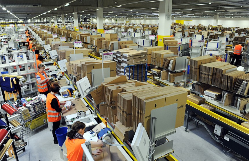 Amazon Ramps Up Sweatshop Conditions in Warehouses with
