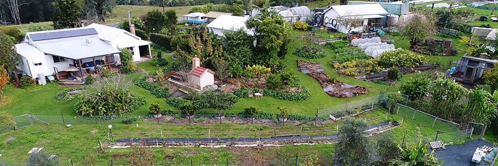 One-Acre Permaculture Garden Feeds 50 Families