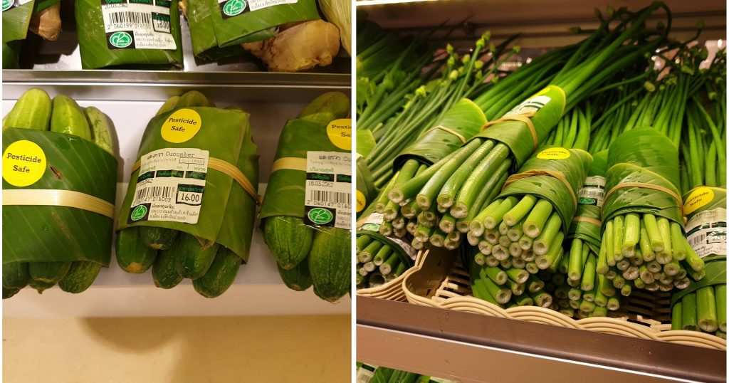 Grocery Chain Replaces Plastic Produce Packaging with Banana Leaves
