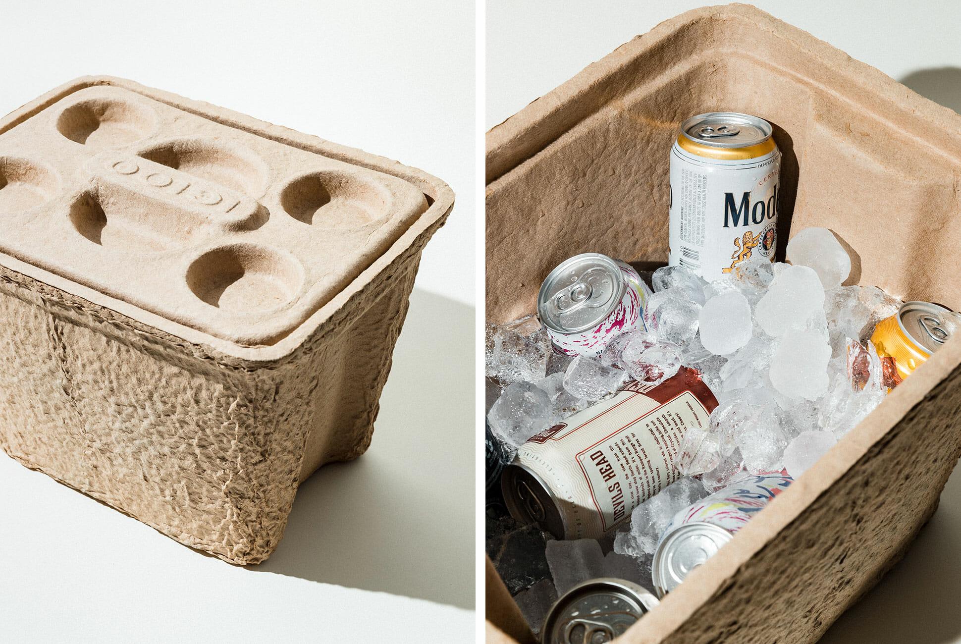 Say Goodbye To Styrofoam Igloo Just Created Biodegradable