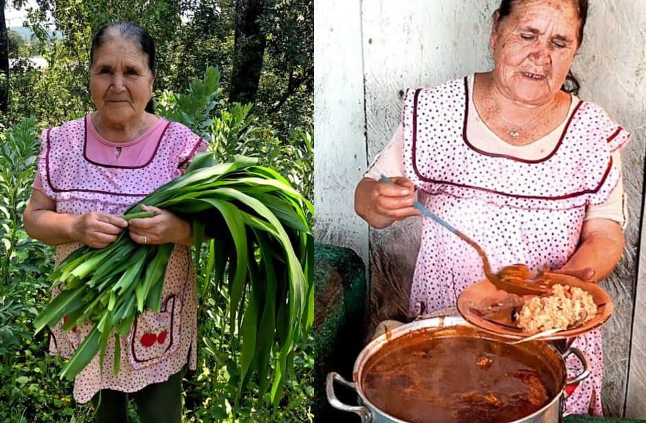 Mexican Grandma S Cooking Show Gets A Million Subscribers In A Month