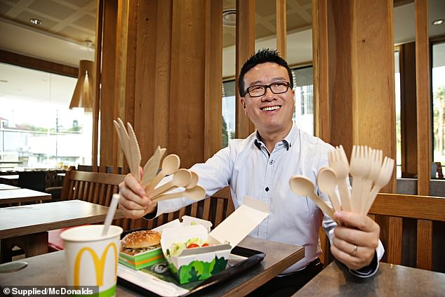 McDonald's Switches to Wooden Cutlery in Australia