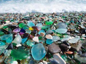 sea glass burn beach glass burned beach glass bonfire beach glass beautiful inside and out bonfire glass ooak Broken and beautiful